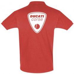 Футболка Поло Ducati Corse - FatLine