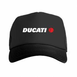 Кепка-тракер Ducati - FatLine