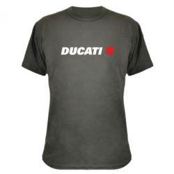 Камуфляжная футболка Ducati - FatLine