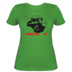 Женская футболка Dukati - FatLine