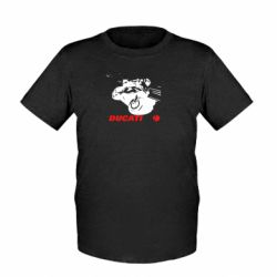 Детская футболка Dukati - FatLine