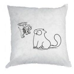 Подушка Два кота - FatLine