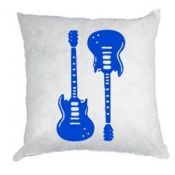 Подушка Две гитары - FatLine