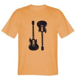 Мужская футболка Две гитары - FatLine