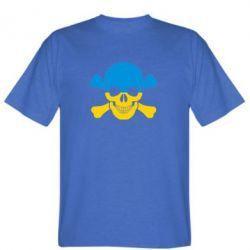 Мужская футболка Двокольоровий череп - FatLine