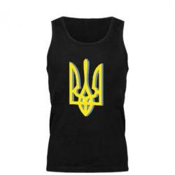 Мужская майка Двокольоровий герб України - FatLine