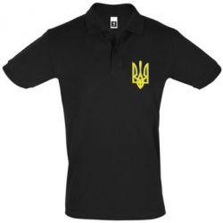 Футболка Поло Двокольоровий герб України - FatLine