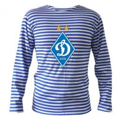 Тельняшка с длинным рукавом Dynamo Kiev - FatLine