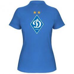 Женская футболка поло Dynamo Kiev - FatLine