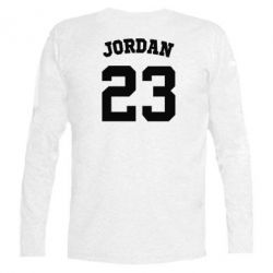 Футболка с длинным рукавом Джордан 23 - FatLine