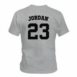 Детская футболка Джордан 23 - FatLine