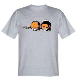 Мужская футболка Джулс и Винсент - FatLine
