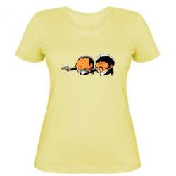 Женская футболка Джулс и Винсент - FatLine