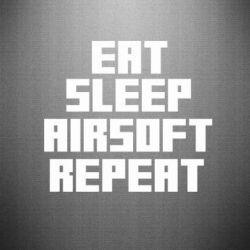 �������� Eat sleep airsoft - FatLine