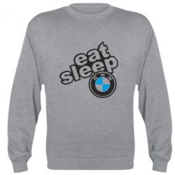 Реглан Eat, sleep, BMW