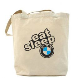 Сумка Eat, sleep, BMW