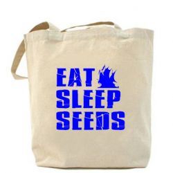 Сумка Eat Sleep Seeds (pirat bay) - FatLine