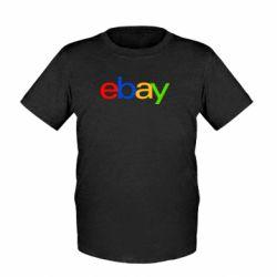 Детская футболка Ebay - FatLine