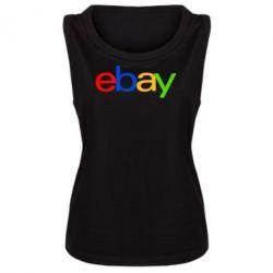 Женская майка Ebay - FatLine