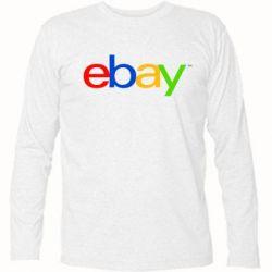 Футболка с длинным рукавом Ebay - FatLine