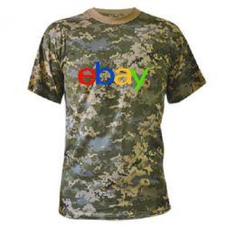 Камуфляжная футболка Ebay - FatLine