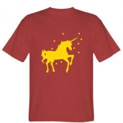 Мужская футболка Единорог - FatLine