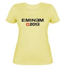 Женская футболка Eminem 2013 - FatLine