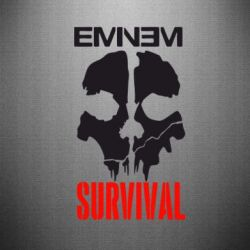 Наклейка Eminem Survival - FatLine