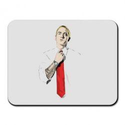Коврик для мыши Eminem в галстуке