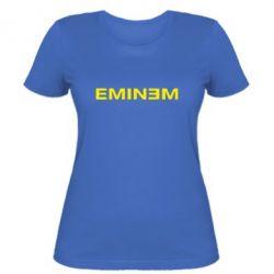 Жіноча футболка Eminem - FatLine