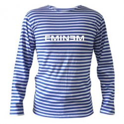Тельняшка с длинным рукавом Eminem - FatLine