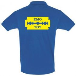 Футболка Поло Emo Toy - FatLine