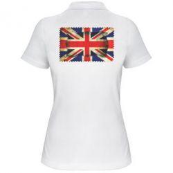 Женская футболка поло England