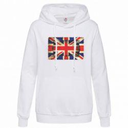 Женская толстовка England - FatLine