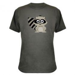 Камуфляжная футболка Енот - FatLine