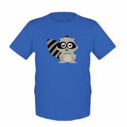 Детская футболка Енот - FatLine