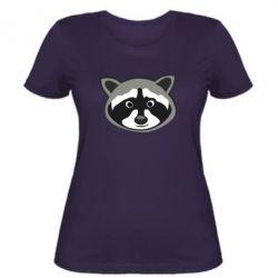 Женская футболка Енотик - FatLine