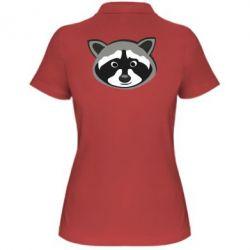 Женская футболка поло Енотик - FatLine