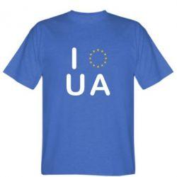 Мужская футболка Euro UA - FatLine