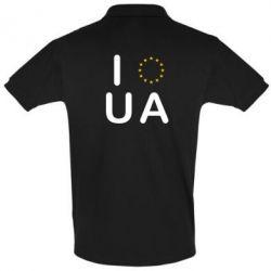 Футболка Поло Euro UA - FatLine