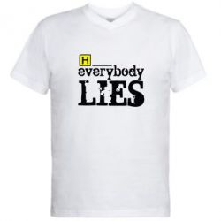 ������� �������� � V-������� ������ Everybody LIES House - FatLine