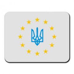 Коврик для мыши ЕвроУкраїна - FatLine