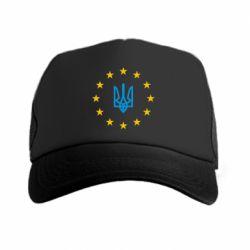 Кепка-тракер ЕвроУкраїна - FatLine