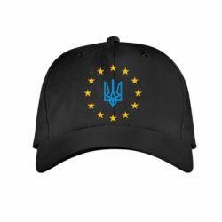 Детская кепка ЕвроУкраїна - FatLine