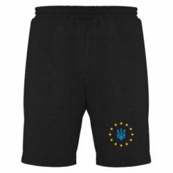 Мужские шорты ЕвроУкраїна - FatLine