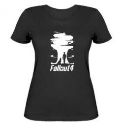 Женская футболка Fallout 4 Art - FatLine