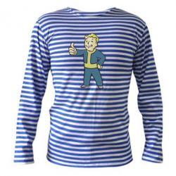 Тельняшка с длинным рукавом Fallout Boy - FatLine