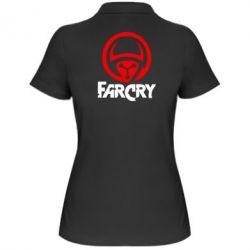 Женская футболка поло FarCry LOgo - FatLine