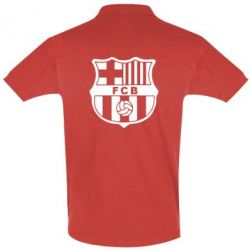 Футболка Поло FC Barcelona - FatLine