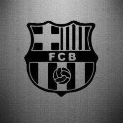 Наклейка FC Barcelona - FatLine
